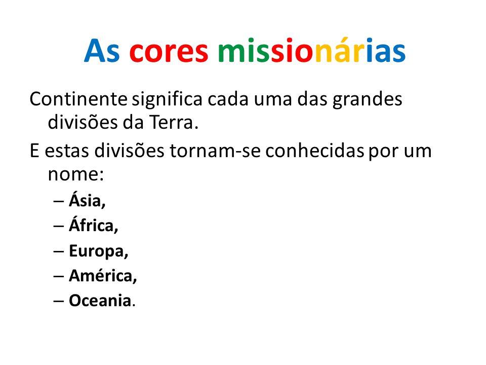 Continente significa cada uma das grandes divisões da Terra.