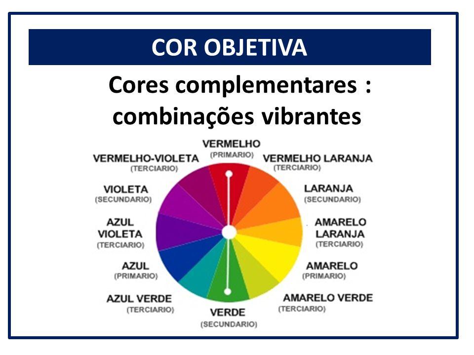 Cores complementares : combinações vibrantes