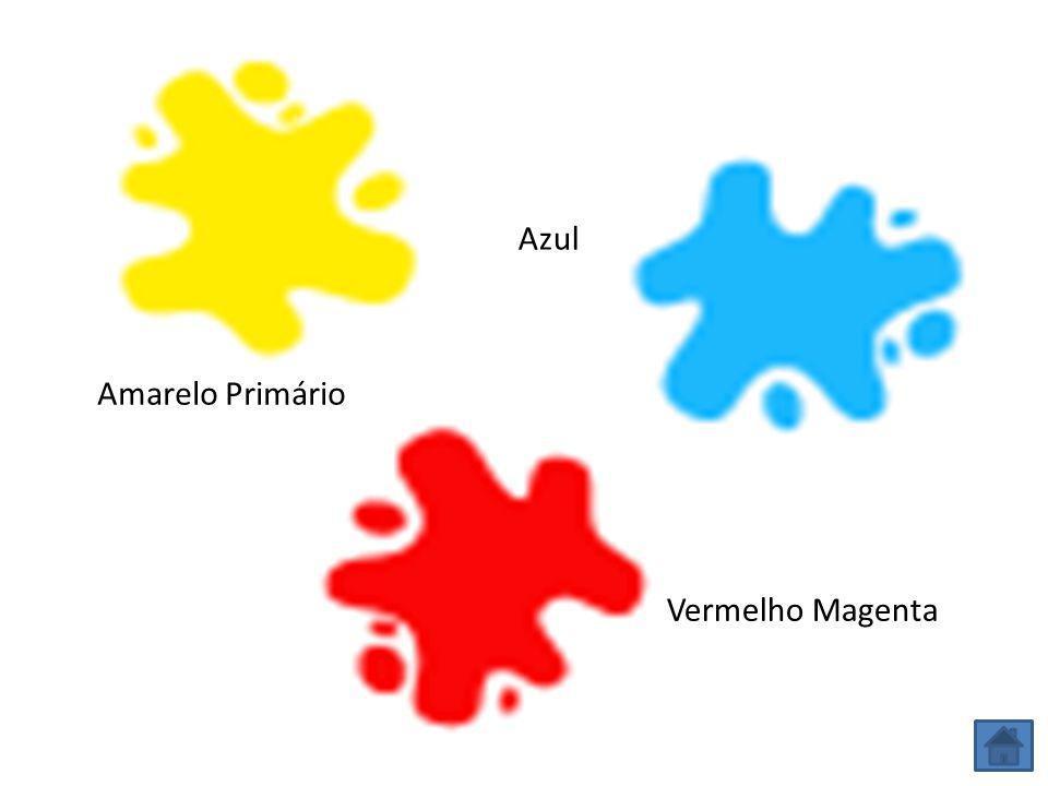 Amarelo Primário Azul Vermelho Magenta