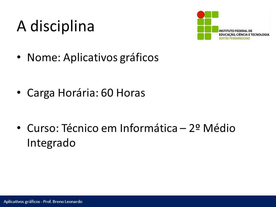 Aplicativos gráficos - Prof.
