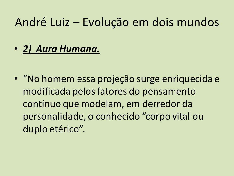 André Luiz – Evolução em dois mundos 2) Aura Humana.
