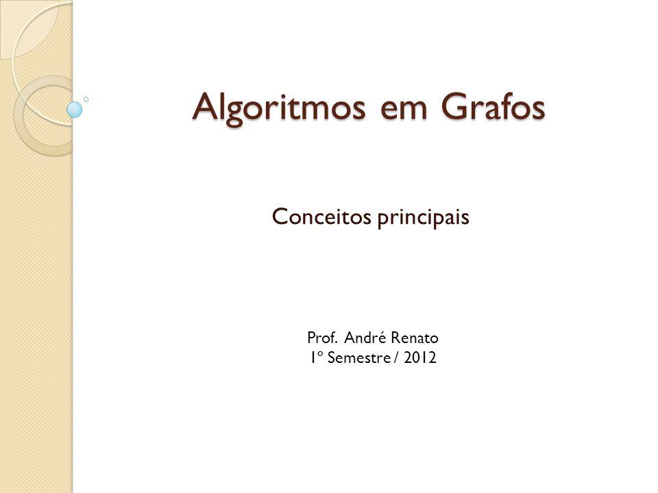 Algoritmos em Grafos Conceitos principais Prof. André Renato 1º Semestre / 2012