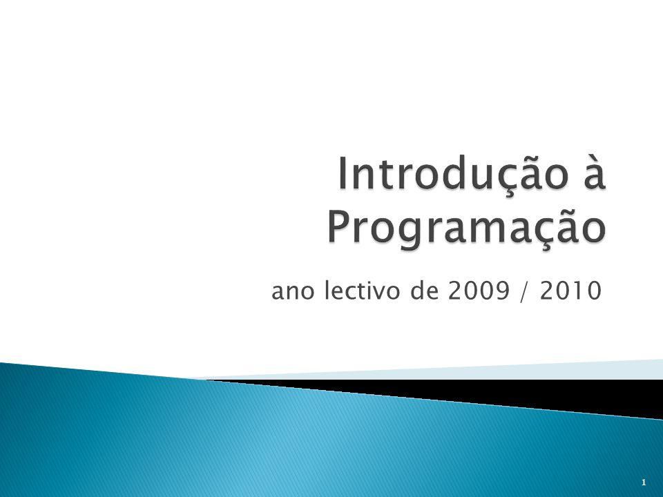 ano lectivo de 2009 / 2010 1