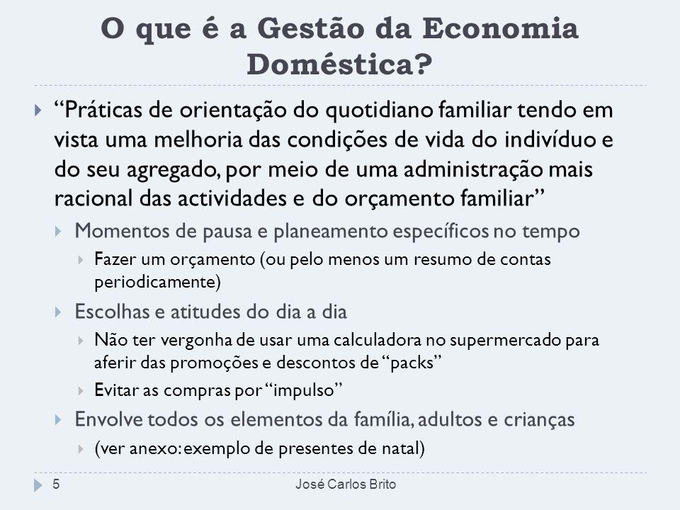 O que é a Gestão da Economia Doméstica? Práticas de orientação do quotidiano familiar tendo em vista uma melhoria das condições de vida do indivíduo e