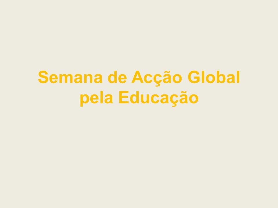 Semana de Acção Global pela Educação