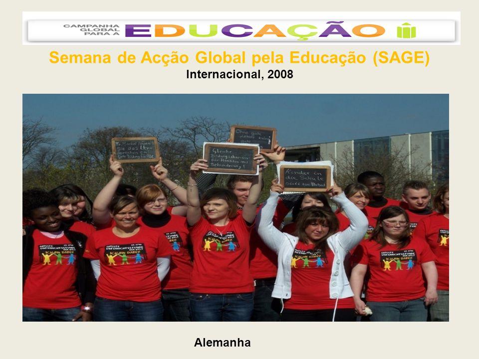 Semana de Acção Global pela Educação (SAGE) Internacional, 2008 Alemanha