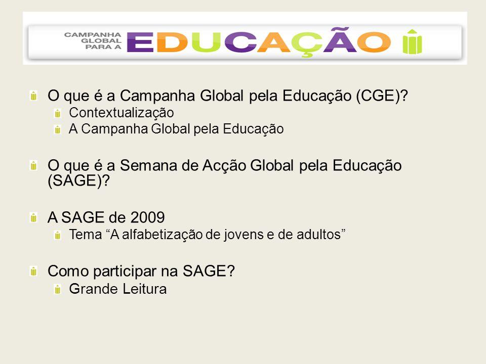 Como participar na SAGE.1. Interesse e vontade em participar; 2.