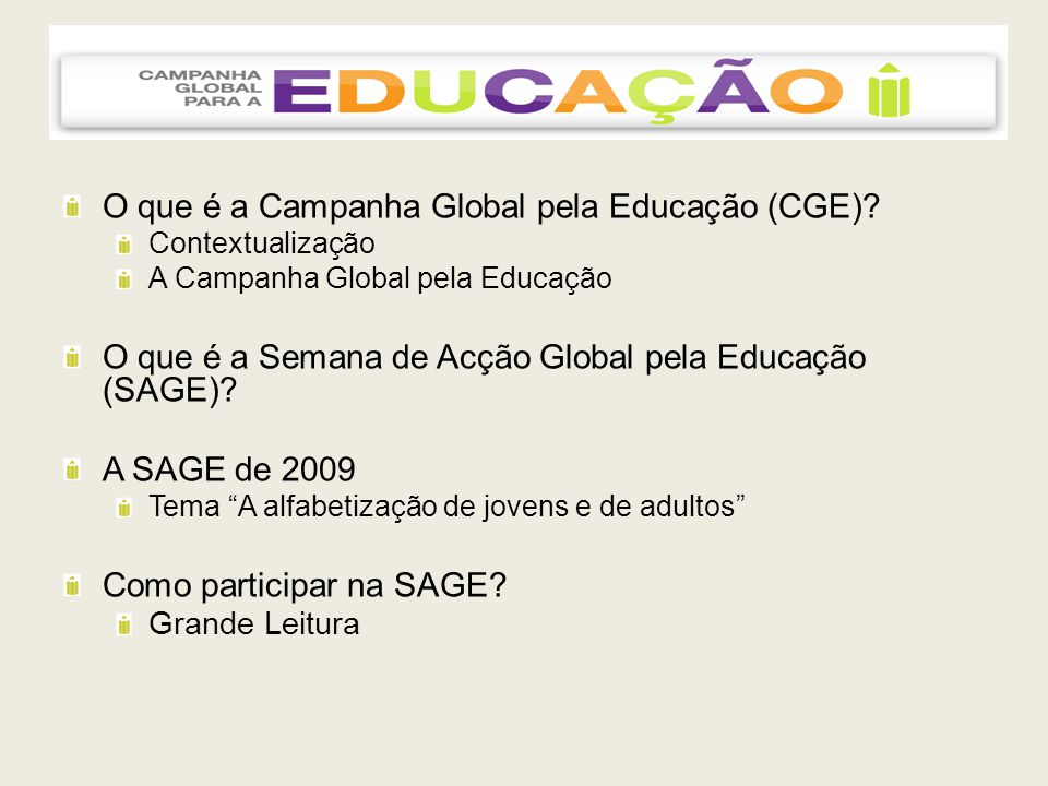 SAGE 2009