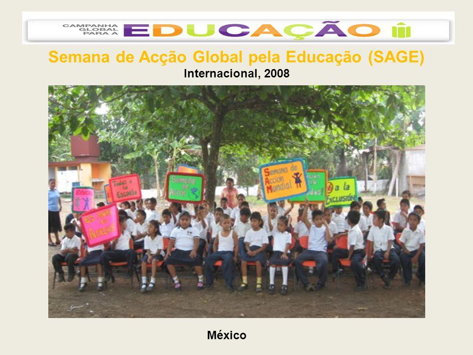 Semana de Acção Global pela Educação (SAGE) Internacional, 2008 México