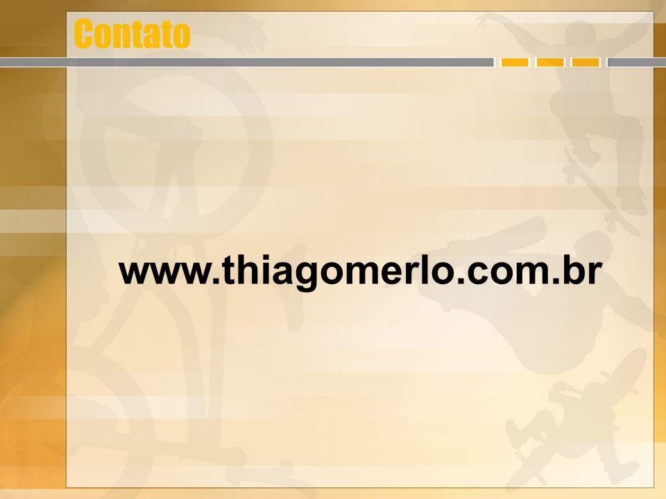 Contato www.thiagomerlo.com.br