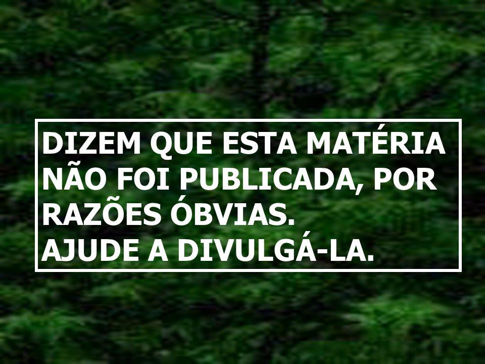 Como humanista, aceito defender a internacionalização do mundo. Mas, enquanto o mundo me tratar como brasileiro, lutarei para que a Amazônia seja noss