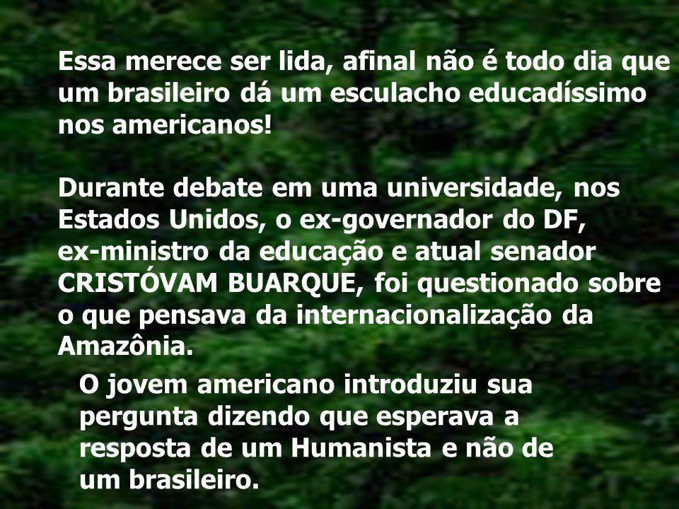 ESSA CALOU OS AMERICANOS.!!! SHOW DO EX-MINISTRO BRASILEIRO DE EDUCAÇÃO NOS ESTADOS UNIDOS