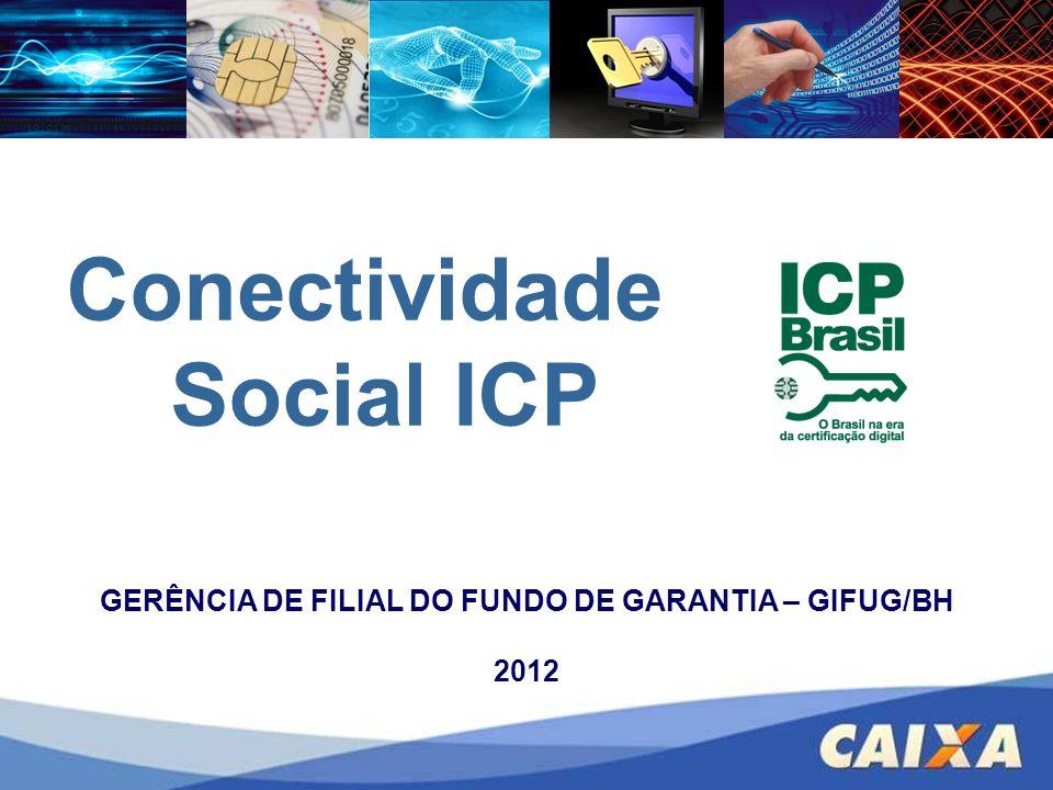 Cadastramento do PIS na Internet; Consulta indícios de irregularidade, geração de GRDE; Parcelamento e devolução; GRF WEB (Doméstico e Recursal) Novas funcionalidades previstas FGTS – CONECTIVIDADE SOCIAL – ICP