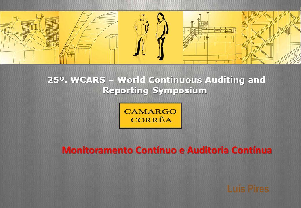 2 Agenda Monitoramento Contínuo Auditoria Contínua