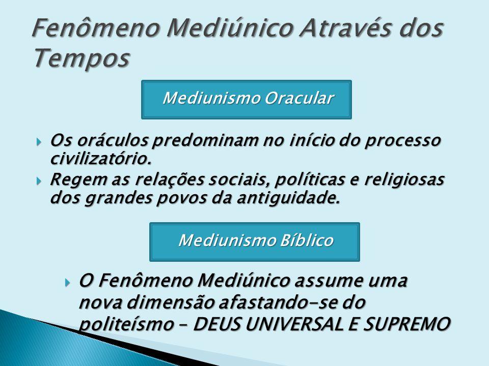 MECANISMOS DA MEDIUNIDADE O perispírito do médium se expande.