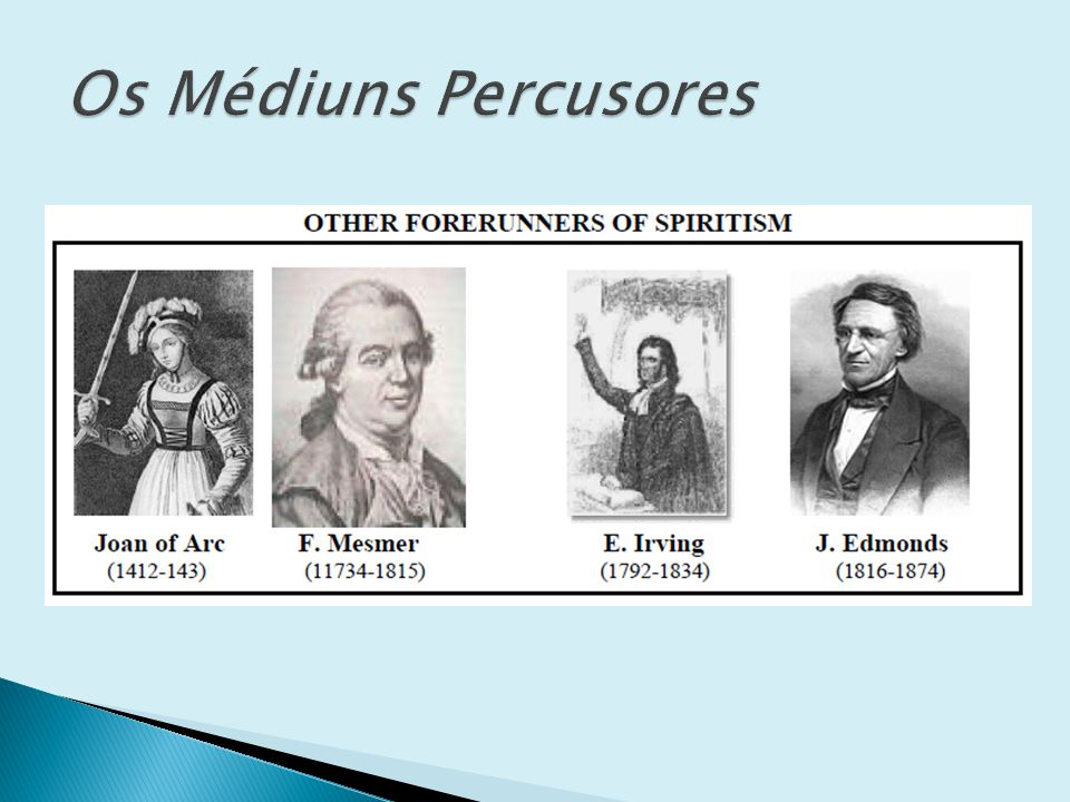 Psicografia direta – o médium toma o lápis na mão e transmite, consciente ou não, o pensamento do espírito comunicante.