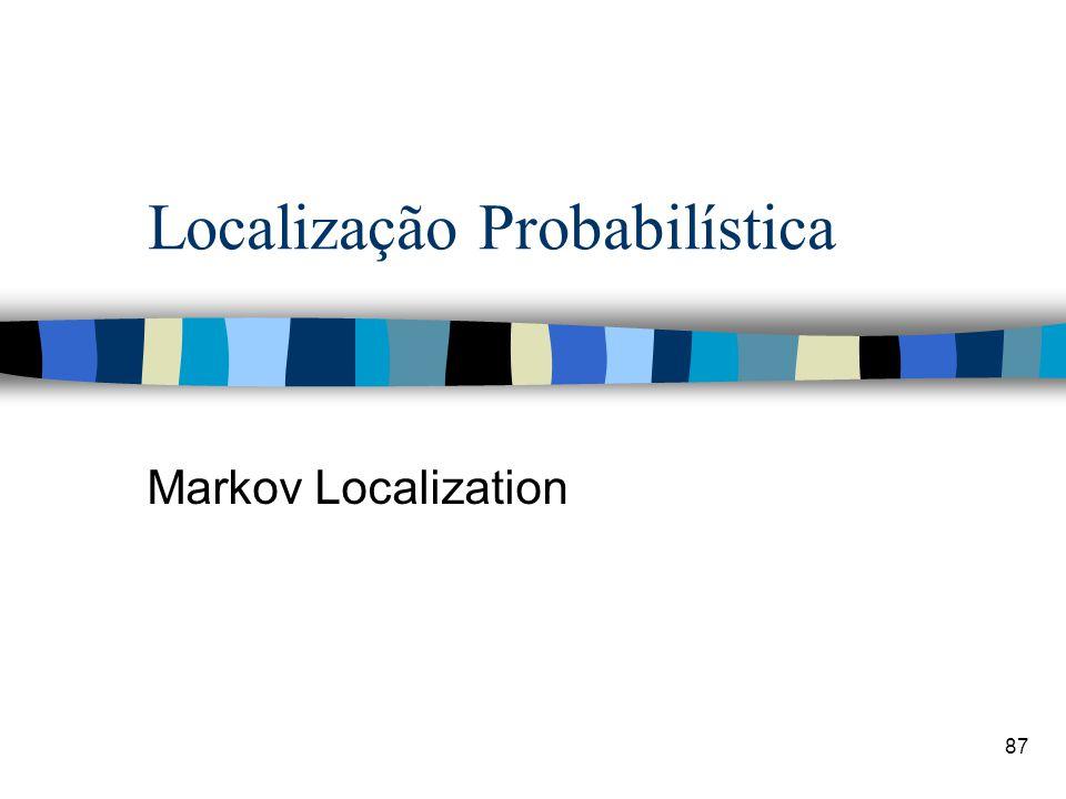 Localização Probabilística Markov Localization 87