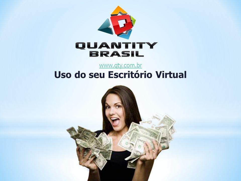 www.qty.com.br Uso do seu Escritório Virtual