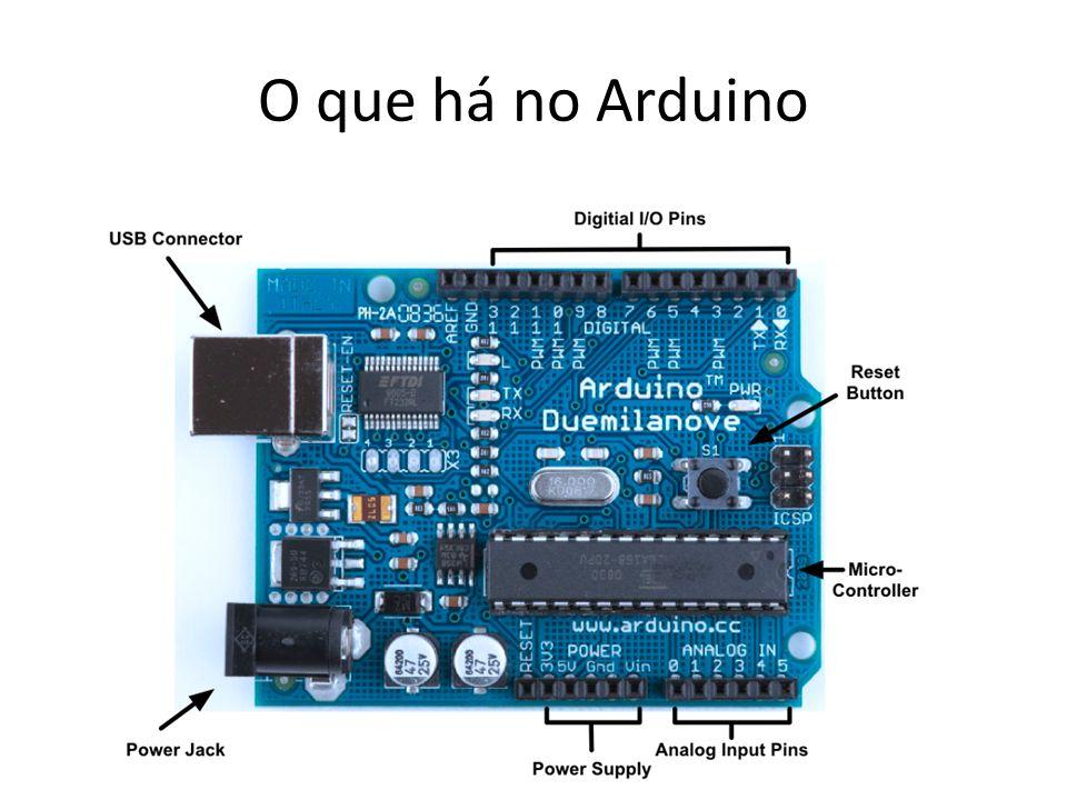 O que há no Arduino