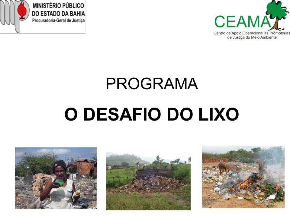 PROGRAMA O DESAFIO DO LIXO