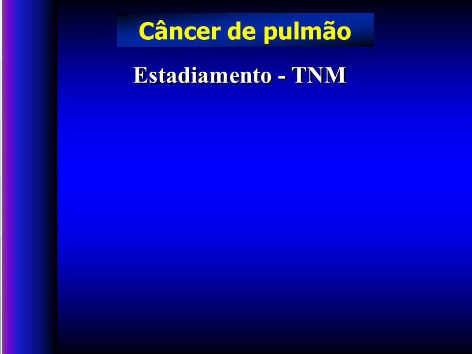 Estadiamento - TNM Câncer de pulmão