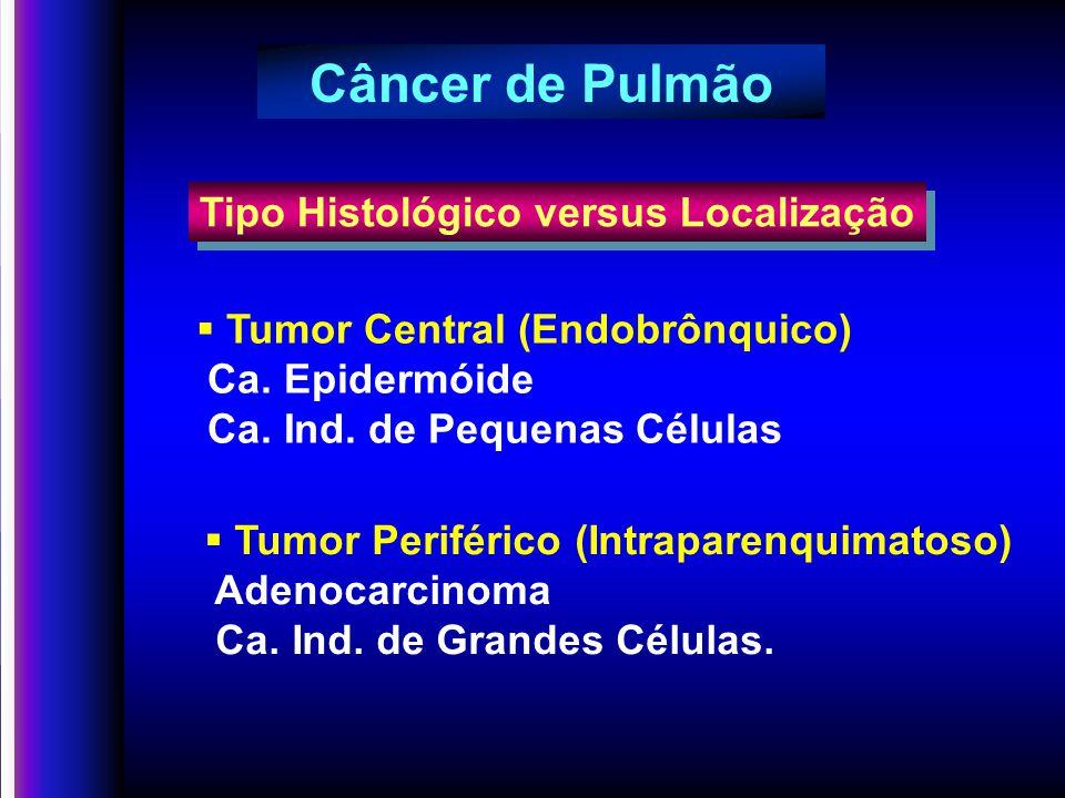 ESTÁDIOTNMSOBREVIDA IAT1N0M067% IBT2N0M057% IIAT1N1M055% T2N1M039% T3N0M038% IIIAT3N1MO25% T1-3N2M023% IIIBT4N0-2M06% T1-4N3M03% IVT1-4N1-3M11% Câncer de pulmão Taxa de sobrevida por estágio em 5 anos Mountain, C.F.