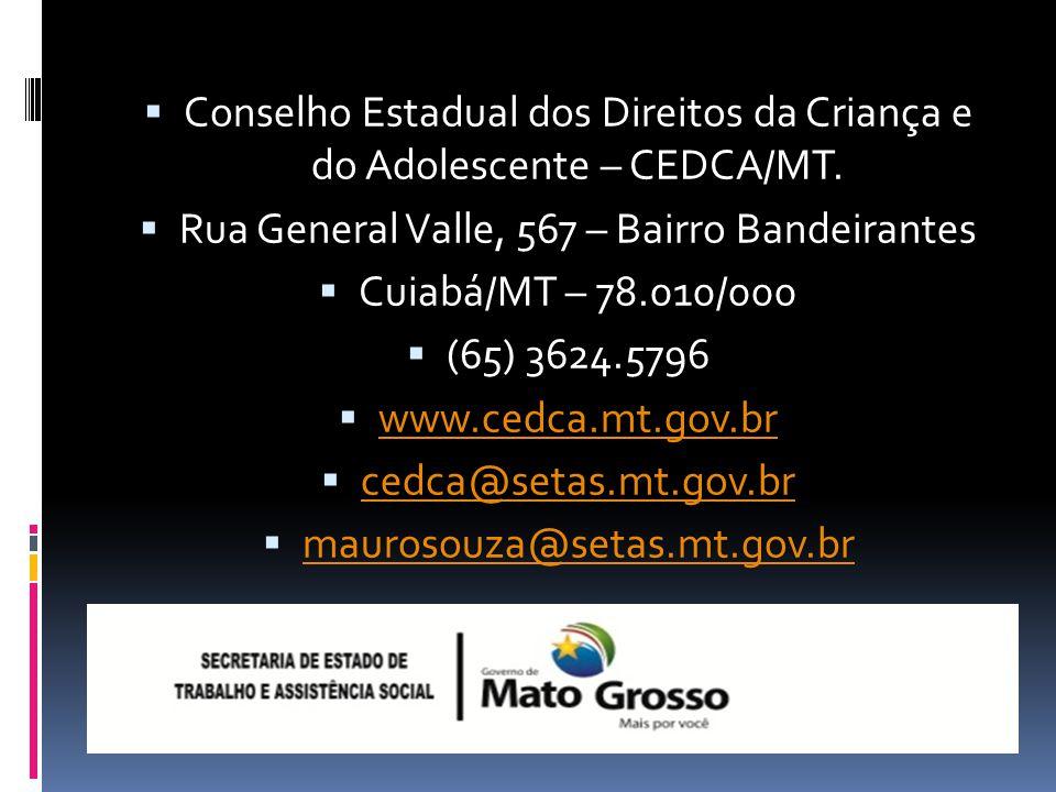 Compromissos e Desafios dos CMDCAs (2014) Realizar as Conferências Municipais dos Direitos da Criança e do Adolescente. (2015) Realizar os preparativo
