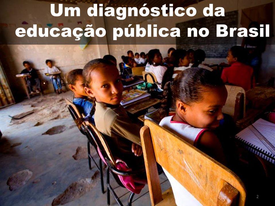 13 A necessidade de uma Lei de Responsabilidade Educacional Maior desafio para uma LRE: definir conceito de qualidade.