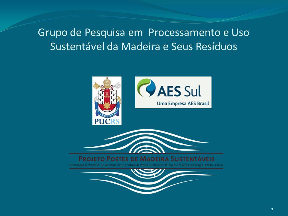 Procedimento Recomendado – Inspeção Tradicional Distribuição dos postes por tipo de preservante.