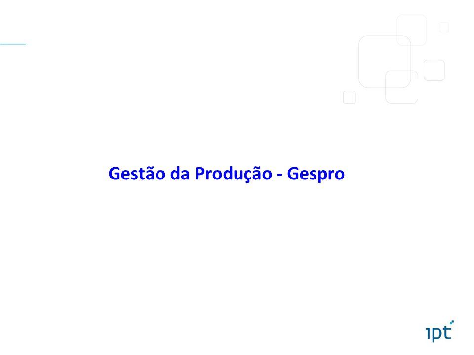 Gestão da Produção - Gespro