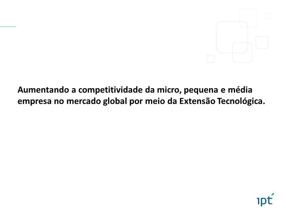 Aumentando a competitividade da micro, pequena e média empresa no mercado global por meio da Extensão Tecnológica.