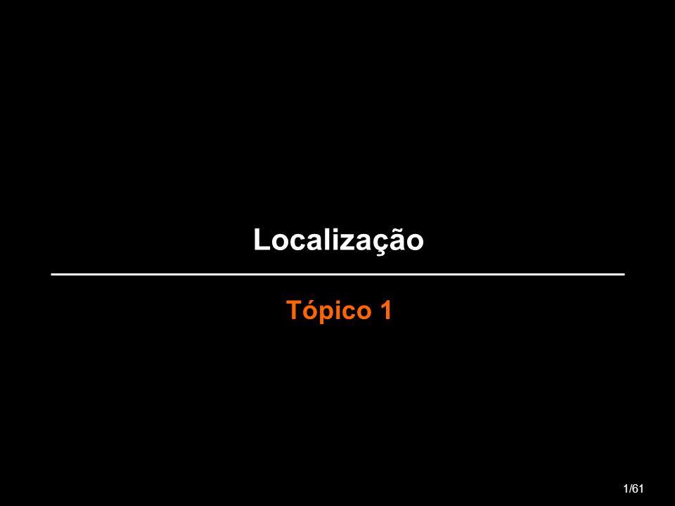 Localização Tópico 1 1/61
