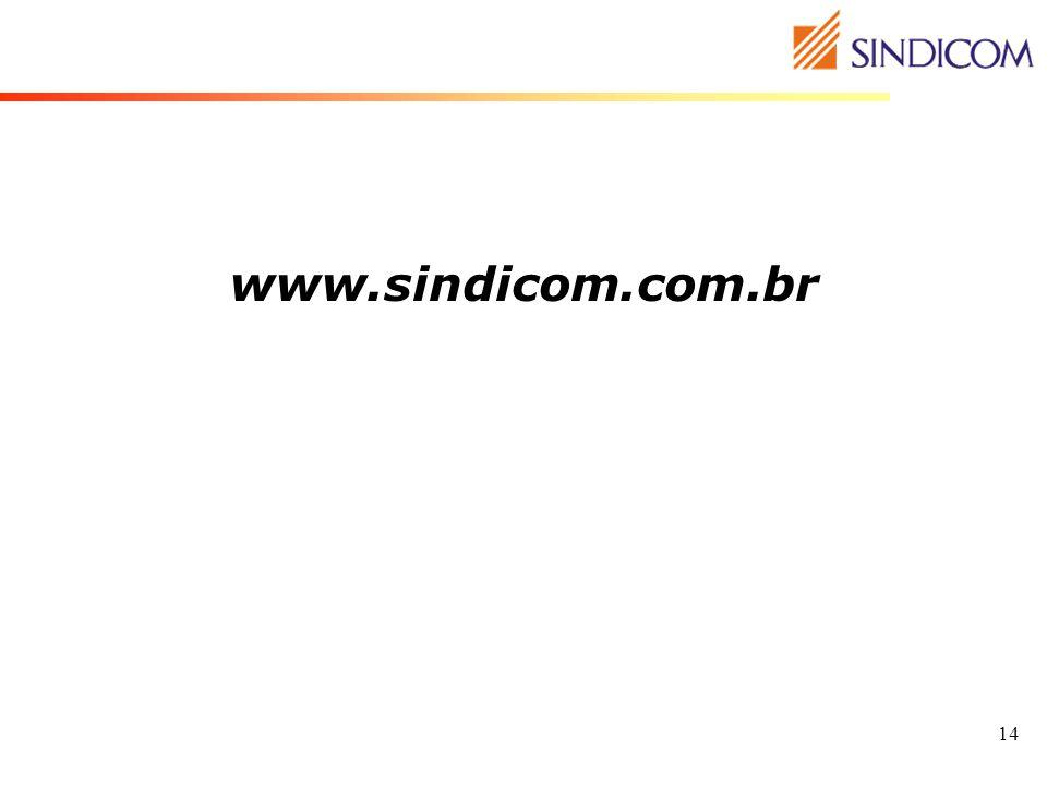14 www.sindicom.com.br