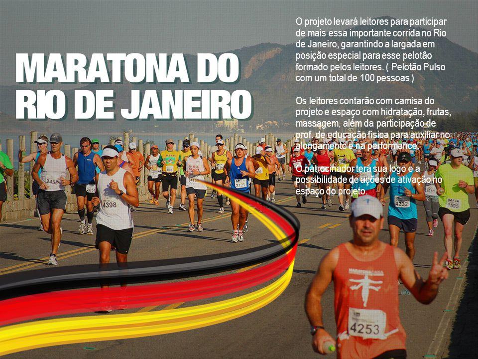 O projeto levará leitores para participar de mais essa importante corrida no Rio de Janeiro, garantindo a largada em posição especial para esse pelotã
