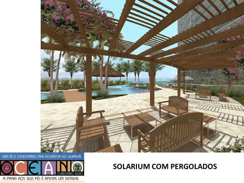 SOLARIUM COM PERGOLADOS