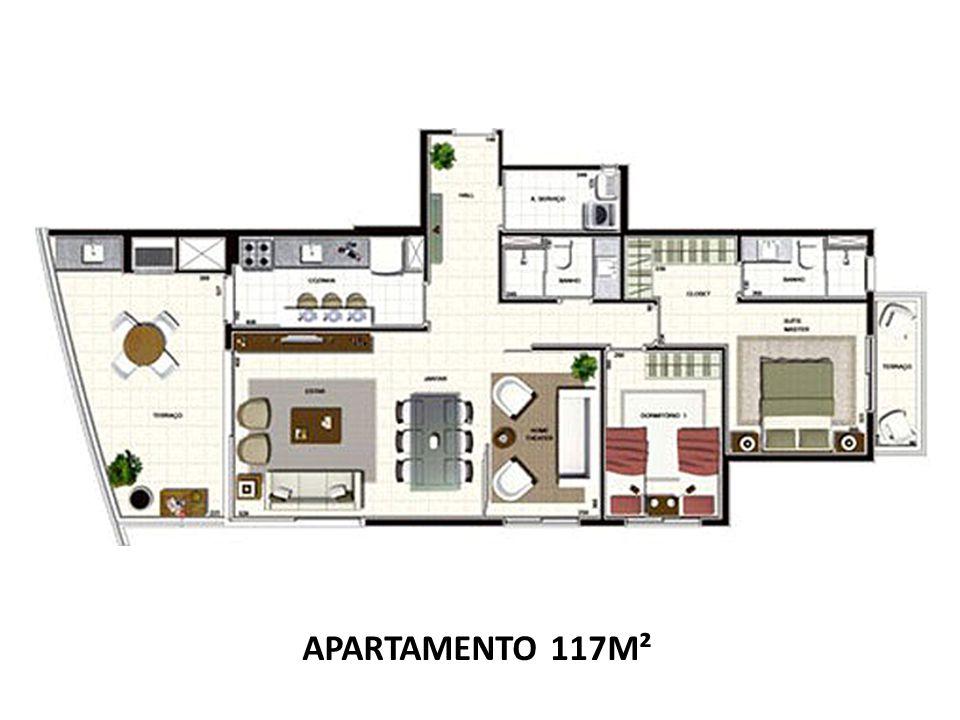 APARTAMENTO 117M²