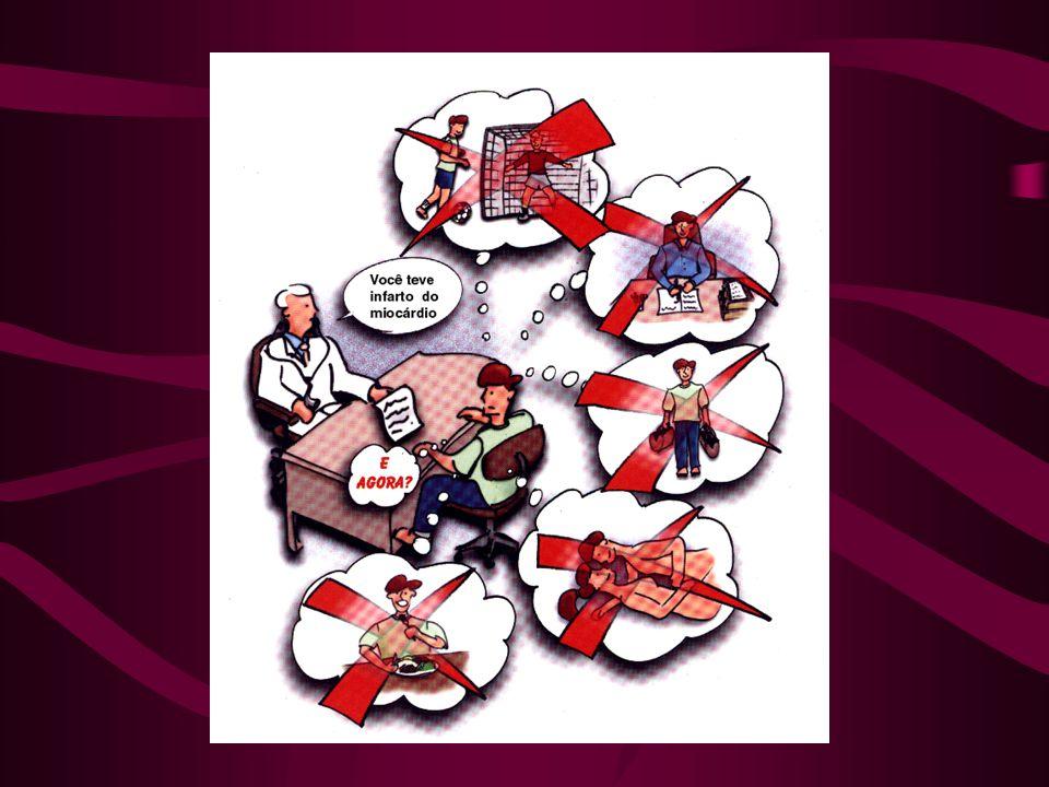 Todo paciente vítima de infarto do miocárdio, tem vários questionamentos que deverão ser esclarecidos pelo seu médico