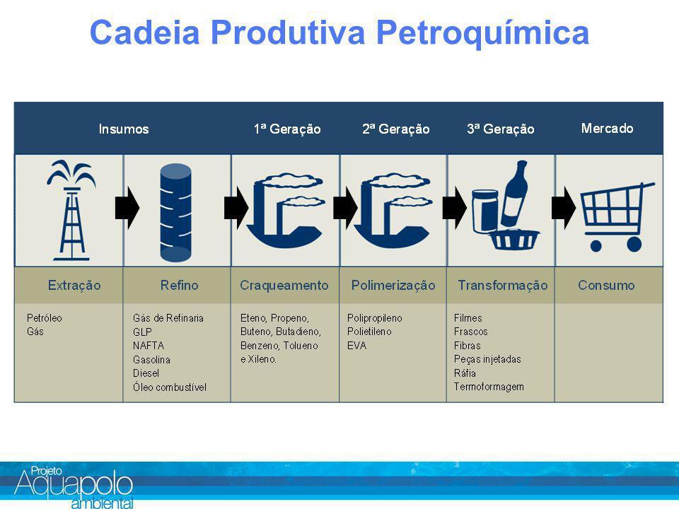 Cadeia Produtiva Petroquímica