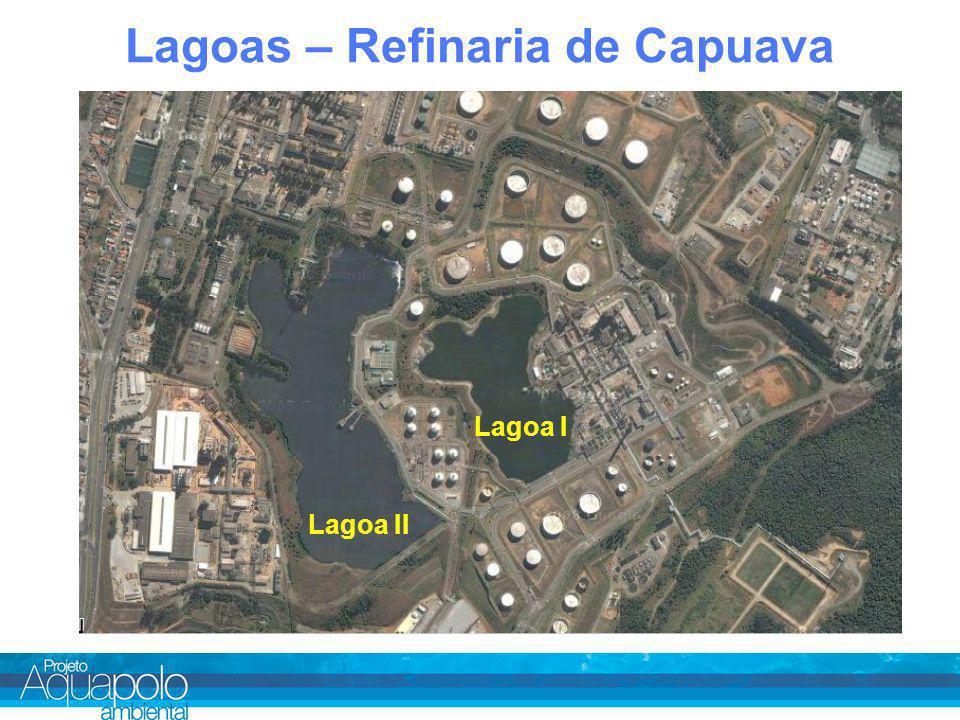 Lagoas – Refinaria de Capuava Lagoa I Lagoa II