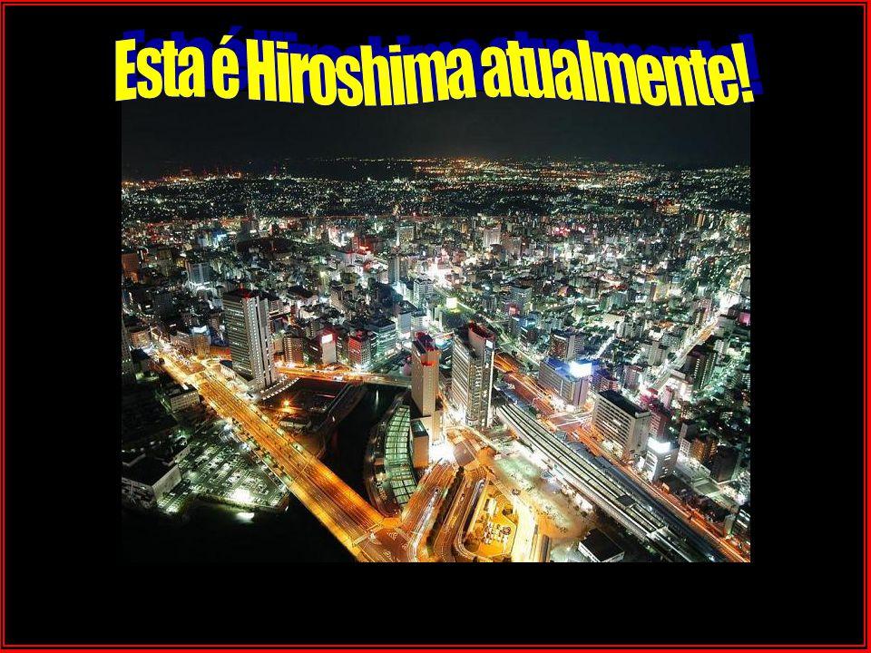O que restou de Hiroshima em agosto de 1945