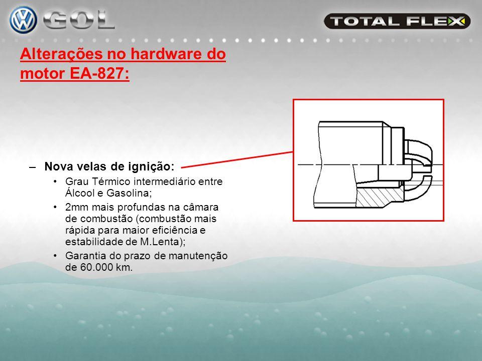 –Válvulas e sedes com material mais resistente ao desgaste: Válvulas Adm.