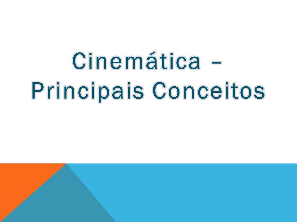 Cinemática : É a parte da mecânica que estuda os movimentos dos corpos ou partículas sem se levar em conta o que os causou.