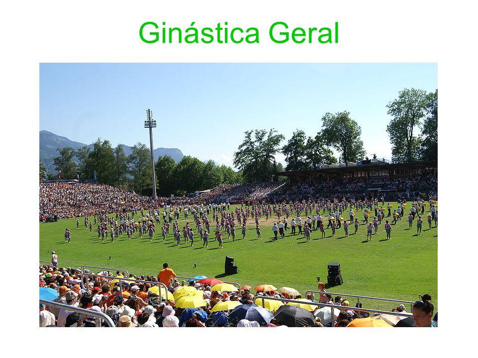 O termo GG foi proposto pela FIG no final da década de 1970 e início de 1980, para se referir as atividades da ginástica fora da competição, ou seja, para distinguir os esportes ginásticos do universo não competitivo da ginástica.