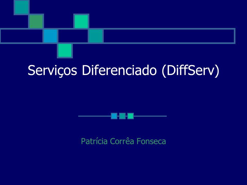 Serviços Diferenciado (DiffServ) Patrícia Corrêa Fonseca