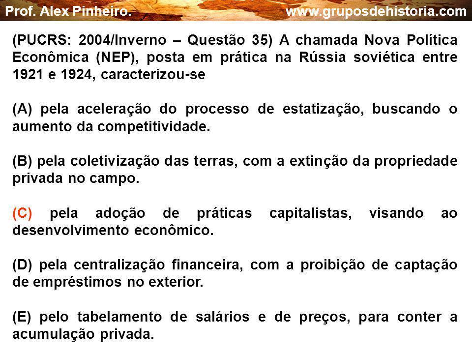 Prof.Alex Pinheiro.