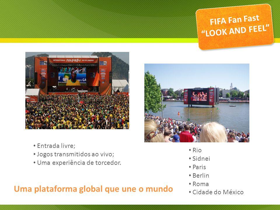 Uma plataforma global que une o mundo Entrada livre; Jogos transmitidos ao vivo; Uma experiência de torcedor.