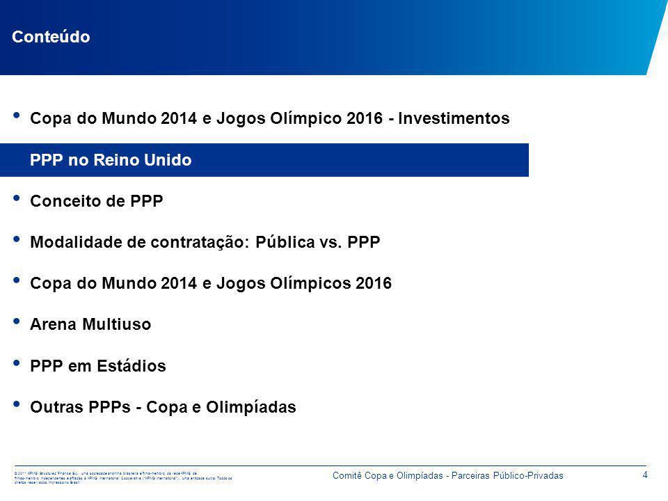 © 2011 KPMG Structured Finance S.A., uma sociedade anônima brasileira e firma-membro da rede KPMG de firmas-membro independentes e afiliadas à KPMG International Cooperative (KPMG International), uma entidade suíça.