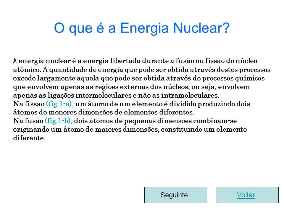 A energia nuclear é a energia libertada durante a fusão ou fissão do núcleo atómico. A quantidade de energia que pode ser obtida através destes proces