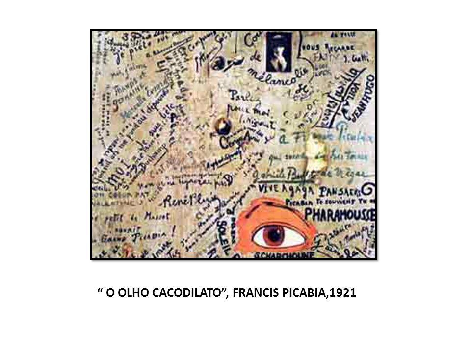 O OLHO CACODILATO, FRANCIS PICABIA,1921