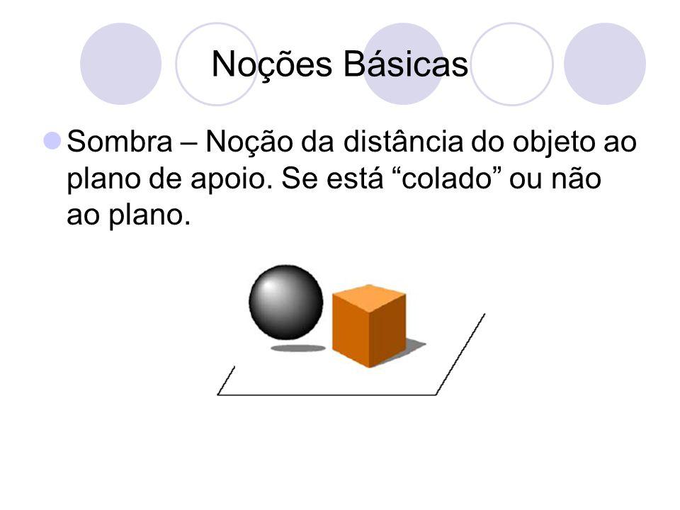Estereogramas de Pontos Aleatórios Mesma idéia dos pares estereoscópicos.